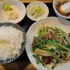 味大将 - 料理写真:レバニラ炒め定食