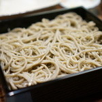 そば処 和邑 - 料理写真:ひきぐるみのアップ
