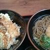 そば処 いながわ - 料理写真:穴子天丼とそば