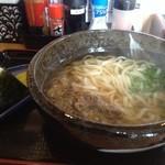 壱 - 日替りAセット(肉うどんとおむすび)