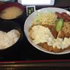 炭火焼 ぢどり家 - 料理写真:タルタルソースたっぷりなチキン南蛮定食