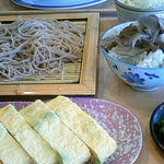 Restaurant Serambi - 舞茸の炊き込みご飯とへぎそば
