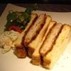 スキッシュエリア - 料理写真:皇室献上のパンで作るカツサンド
