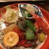 草庵 田なか - 料理写真:【八寸】・うるい様、コハダのヌタ様、数の子様、エビ様、煮アワビ様
