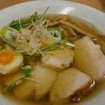 東京食堂 - 2015.2.10 エビしお麺 ¥750