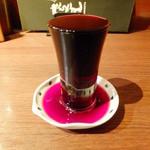 たらこ屋 - 赤ワイングラス
