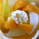 フルーツパーラーゴトー - 10種類の柑橘系のパフェ