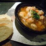 レトノ - 海老とマッシュルームのアヒージョ