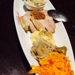 サラ スイート カフェ ルーコラ - 前菜盛り合わせ7種