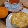 マコマルシェ - 料理写真:トーストセット+みかん