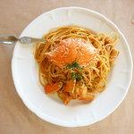 Pasta e Cafe MOCHA - 料理写真:冬季限定 ワタリガニのパスタ トマトクリームソース(Pasta é Cafe MOCHA(パスタ エ カフェ モカ))