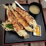 魚稚 - 穴子天丼