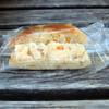 ミモレット - 料理写真:オレンジベーグルのクリームチーズサンド