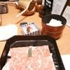 浪花そば - 料理写真:そばしゃぶのお肉