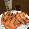 芳芳串焼 - 料理写真:焼きエビ