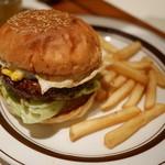 cafe Hohokam - 和牛テリタマバーガー(2015年2月のマンスリーバーガー)