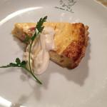 欧味食卓サラマンジェ・ガラ - 玉ねぎのキッシュ
