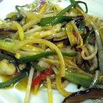 広東家庭料理 藍林閣 - チンジャオロースーです