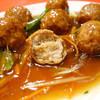 天津軒 - 料理写真:2013年10月 肉だんご内部
