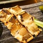 幸ちゃん寿司 - 焼き穴子(塩)