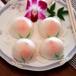 中国料理 皇苑 - 桃まんじゅう