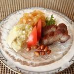 中国料理 皇苑 - 前菜3種盛り合わせ