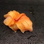すし京辰 - 赤貝