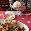 二葉屋 - 料理写真:持参したおにぎりも食べました(^^)