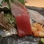 すし屋魚真 - 刺し盛り