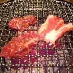 焼肉居酒家 韓の台所 - ロースター