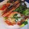 レストランカリブ - 料理写真:長年愛されている大海老料理(塩焼き)