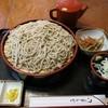 押し花茶屋 華 - 料理写真:『もりそば(きんぴら付)』(税込600円)