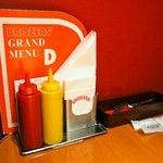ブラザーズ - テーブルにはケチャップ&マスタード