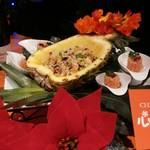 元町 心心相印 - 【鴨肉と十八玄米のパイナップル炒飯】