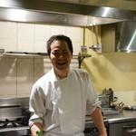 レストラン バカール - 石井シェフ