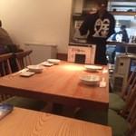 魚金 - 2階テーブル席