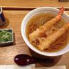 嘉玄 - 料理写真:海老天蕎麦です
