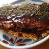 お好み焼き ワタナベ - 料理写真:モダン焼き600円めちゃでっかくてぼりみーにたまげるぞん