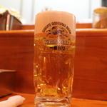 串あげ 万福 - 生ビール