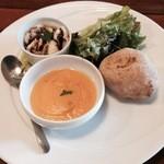 ピッコラトラットリア アニュ - 料理写真:前菜盛り合わせ