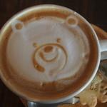 トワモワカフェ - カフェラテ