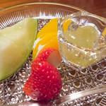 ふく政 - 水菓子