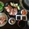 清香園 - 料理写真:特選焼肉ランチとカルビ単品