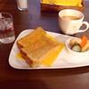角パン専門店Cafe&マルシエルブ - 料理写真:バタートーストとブレンド珈琲