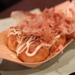 大阪ミナミのたこいち - たこ焼き醤油味6個