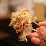 大阪ミナミのたこいち - たこ焼き空中写真