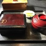若菜館 - うな重(竹)