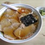 山椒 - 料理写真:チャーシューメン700円。