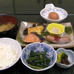 浦島 - 朝食