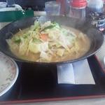 餃子の王将 - 料理写真:チャンポン、価格は税込みで626円!値上がり!